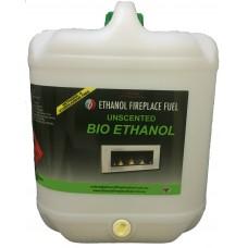 Unscented Bio Ethanol Fireplace Fuel - 20 Litre