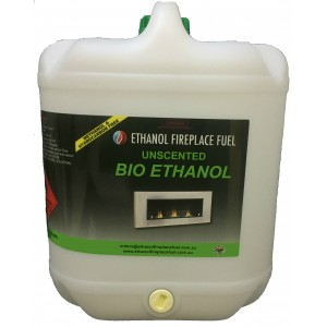 Unscented Bio Ethanol Fireplace Fuel - 20 Litre